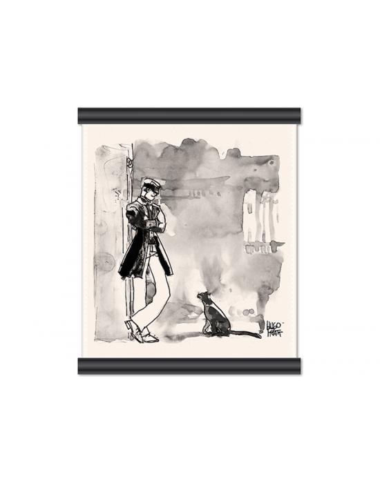 Corto Maltese de Hugo Pratt - Corto et le chat -