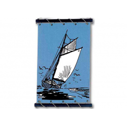 Toile Corto Maltese de Hugo Pratt - Vent arriere -