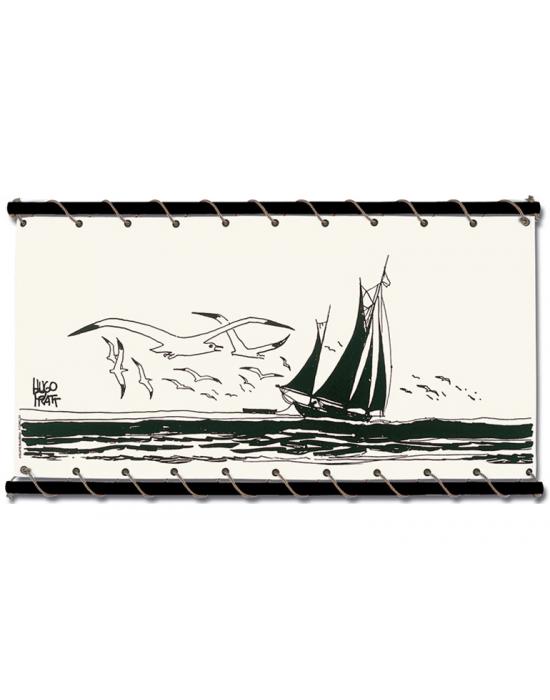 Corto Maltese de Hugo Pratt - Voilier -