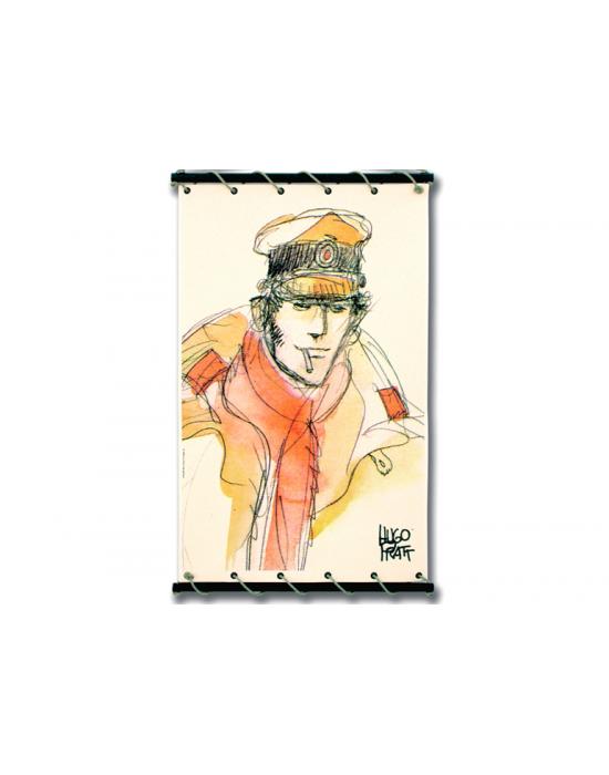 Corto Maltese de Hugo Pratt - Echarpe rouge -