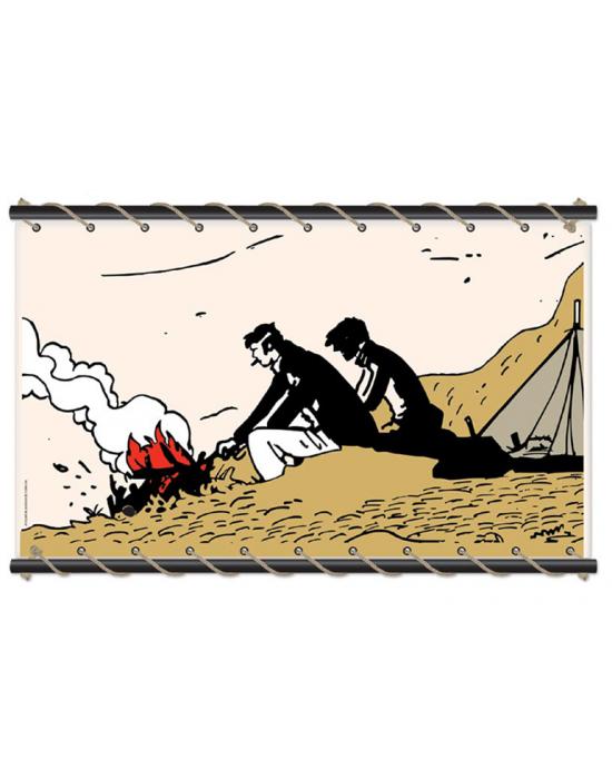 Corto Maltese de Hugo Pratt - Feu de camp ecru -