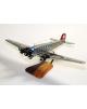 Maquette avion Junkers 52 Lufthansa en bois