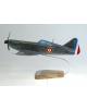 Maquette avion Dewoitine D 520 groupe Saintonge en bois