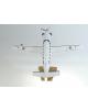 Maquette avion Socata TBM 700 en bois
