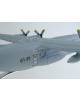 Maquette avion Lockheed C 130 Hercules en bois