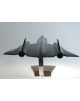 Maquette avion Blackbird Sr 71 en bois