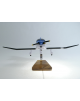 Maquette avion Robin DR400 civil en bois