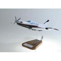 Maquette avion Daher-SOCATA TBM850 en bois