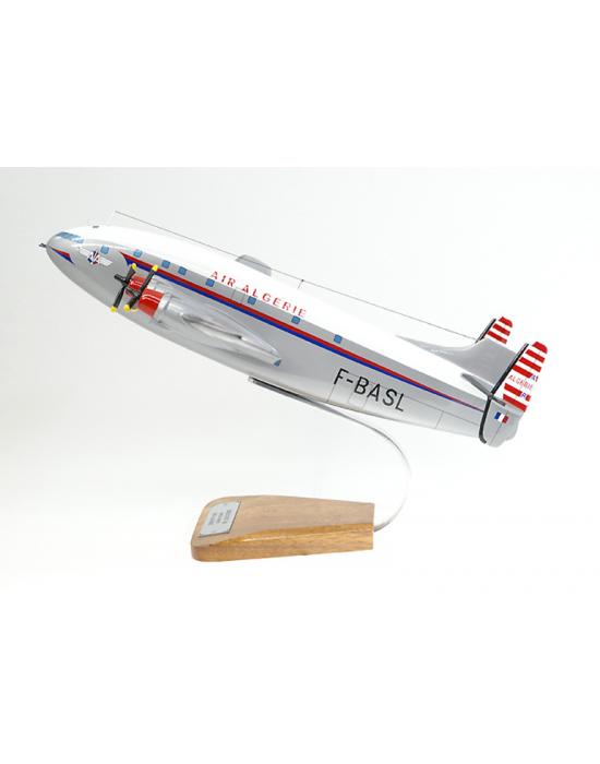 Maquette avion Breguet Deux Ponts BR761 Air Algerie en bois