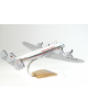 Maquette avion Constellation L 749 Royal Air Maroc en bois