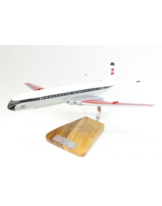 Maquette avion DH 106 Comet 4B en bois