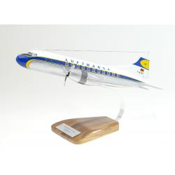 Maquette avion Convair CV 440 Metropolitan Lufthansa en bois