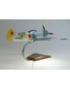 Maquette avion Lavochkin La 5 en bois