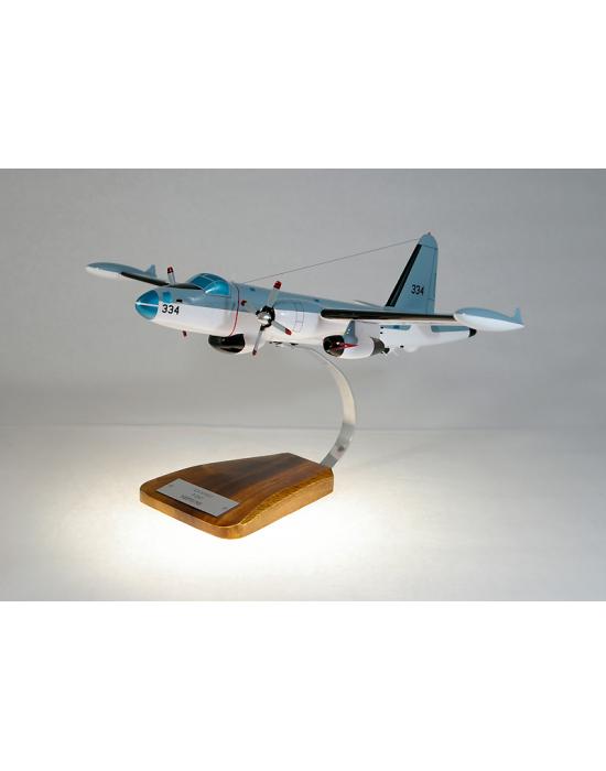 Maquette avion Lockheed P2 Neptun en bois
