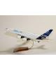 Maquette avion A380 Airbus prestige en bois