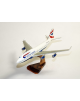 Maquette avion Boeing 747/436 British Airways UK/G-BNLF en bois