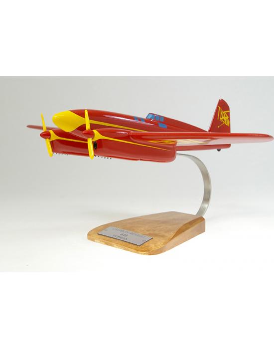 Maquette avion Caudron C 640 Typhon en bois