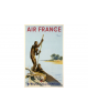 Affiche Air France / Afrique Occidentale