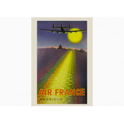 Affiche Air France / Amerique du Sud (COLLECTOR)