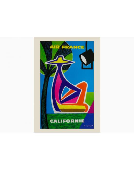 Affiche Air France / Californie