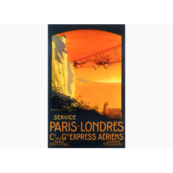 "Affiche Air France / Paris - Londres (""collector"")"