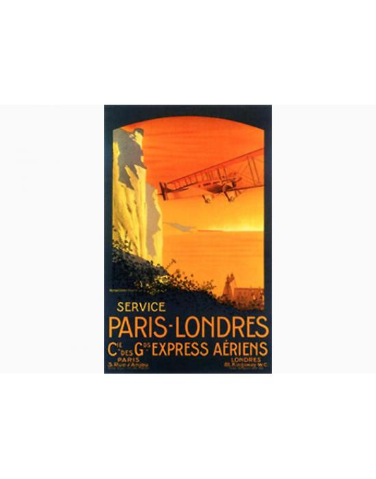 Affiche Air France / Paris - Londres