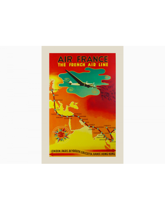 Affiche Air France / The French Airline