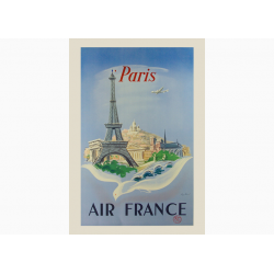 Affiche Air France / Paris