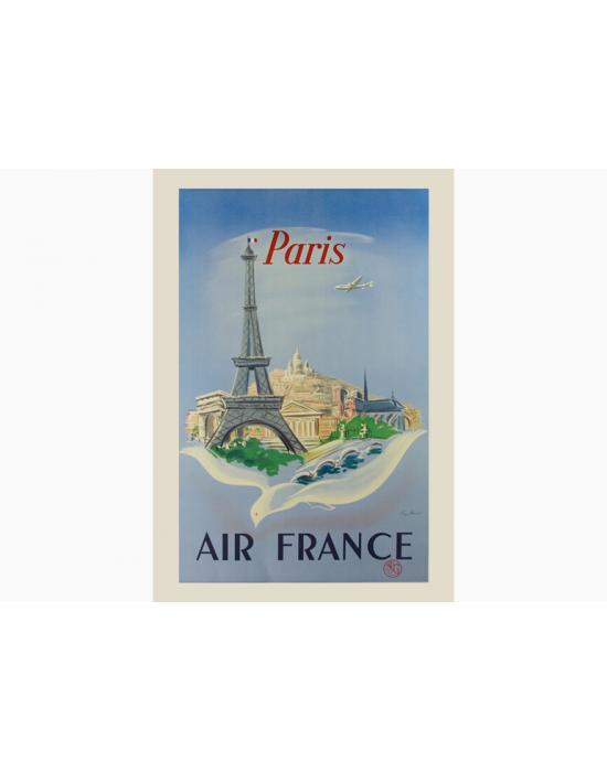 Affiche Air France / Paris