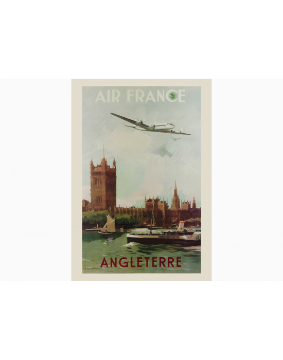 Affiche Air France / Angleterre