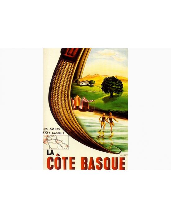 Affiche Basque