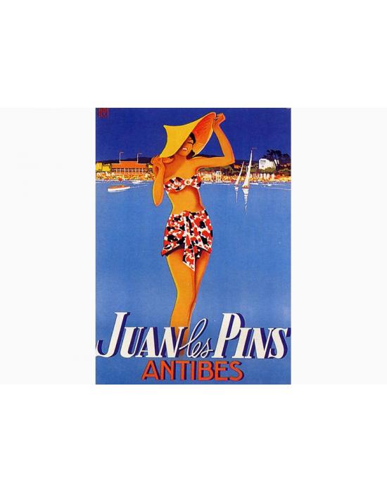Affiche Juan Antibes