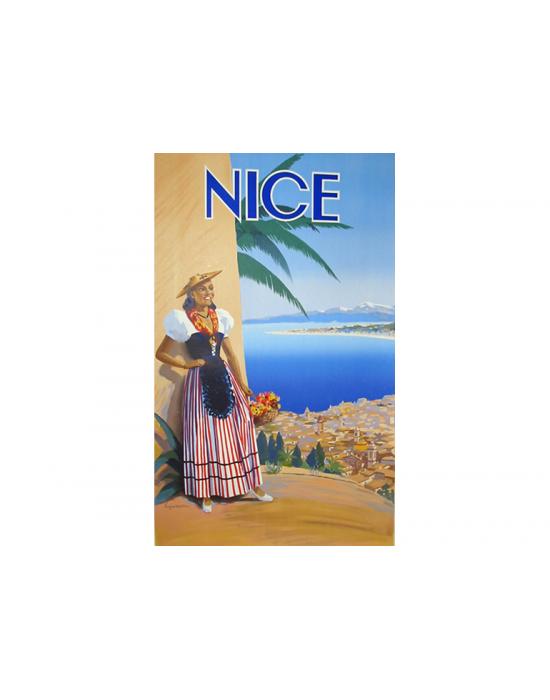 Affiche Nice Femme