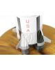 Maquette Saturn 5 Apollo Space rocket en bois