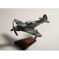 Maquette avion Yak.3 - GC.3 Normandie Niemen en bois