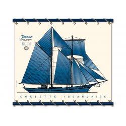 La Goelette 1895 - Bleu -