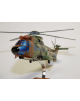 Maquette en bois du Super Puma AS.332 French Army