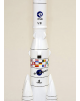 Maquette en bois de l'Ariane 4