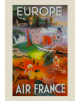 Affiche Air France / Europe