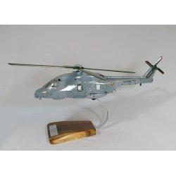 Maquette hélicoptère NH90 NFH aéronavale en bois