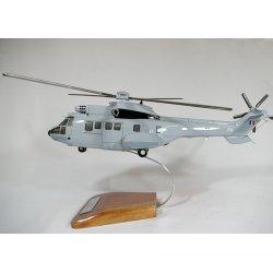 Maquette hélicoptère AS532 Cougar en bois