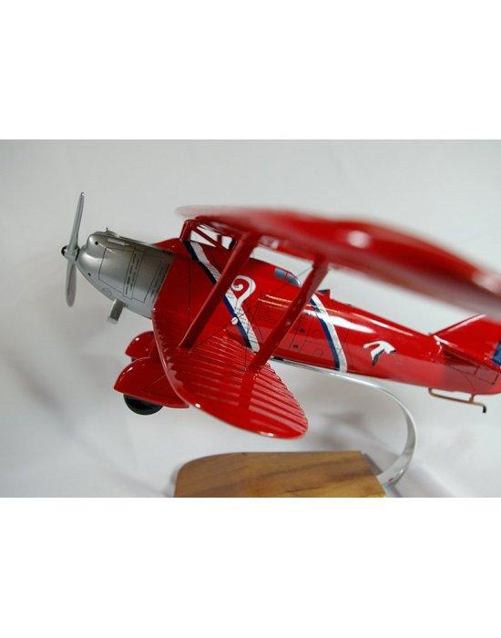 Maquette avion Breguet XIX point d'interrogation en bois