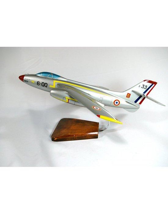Maquette avion Vautour II.N en bois