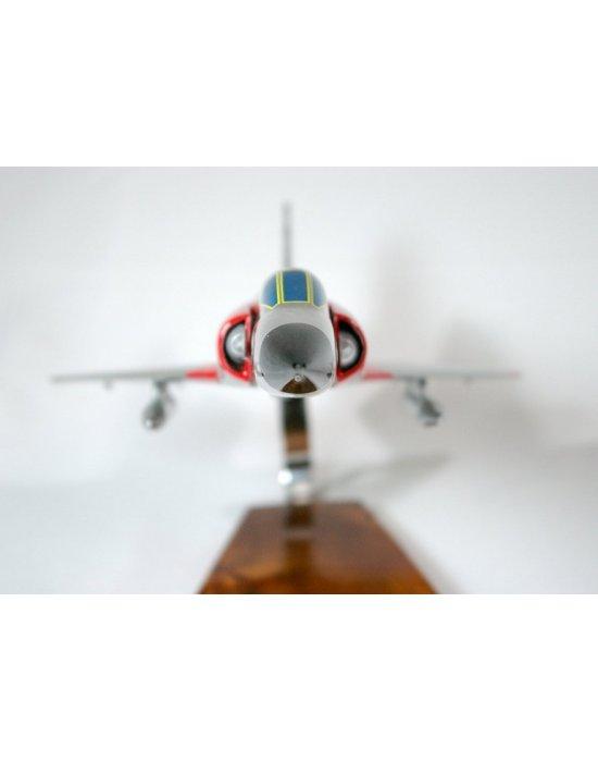 Maquette avion Mirage IIIC en bois