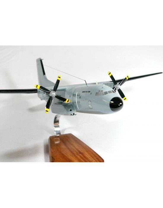 Maquette avion C- 160 Transall en bois