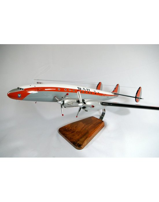 Maquette avion L.749 Constellation SAR/EARS99 en bois