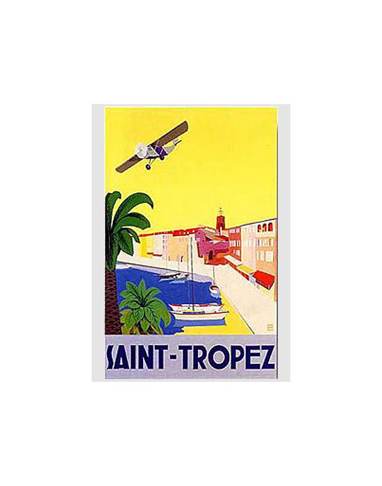 Affiche St. Tropez