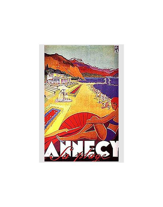 Affiche Annecy