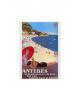 Affiche Antibes Juan les Pins