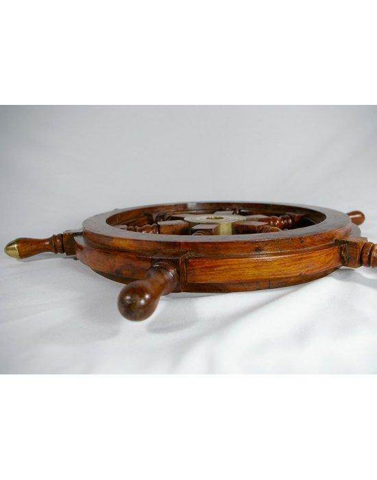 Barre à roue en bois